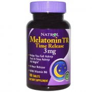 Мелатонин Natrol Melatonin Time Release 3 мг  (100 таб)