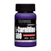 Л-карнитин в таблетках и капсулах Ultimate L-Carnitine 500 мг  (60 таб)
