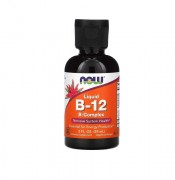 Витамин B12  NOW B-12 B-Complex Liquid   (59ml.)