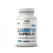 Л-карнитин в таблетках и капсулах VP Laboratory L-Carnitine  (90 капс)